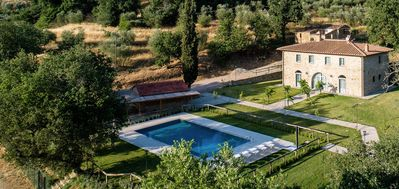 Photo for Villa Irene Tuscany sleeps 10 guests  in 6 bedrooms and large private pool and gardens
