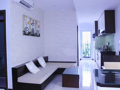 Photo for Apartment in the center of Nha Trang with Pool, Air conditioning, Lift, Balcony (700050)