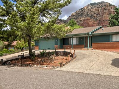 Photo for Quiet Sedona House w/ Covered Patio & Rock Views!