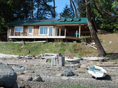 Photo for Off the grid, waterfront gem!