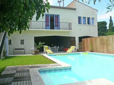 Photo for house with private swimming pool close to Narbonne