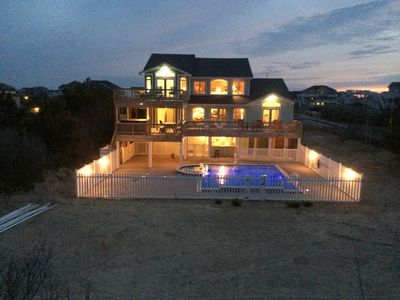Photo for Book Fall & 2020! OCEANFRONTGreat 6 Br/5.5 Ba w/BIG Custom &Kiddie Pool, Big Rms