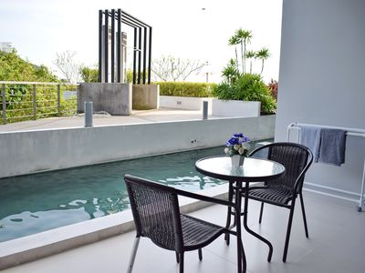 Photo for Studio Pool Access in Karon