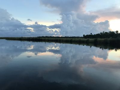 Bulow Creek is absolutely tranquil! You will probably have it to yourself 99%.