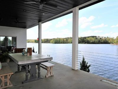 Photo for Luxury Lakehouse with a View