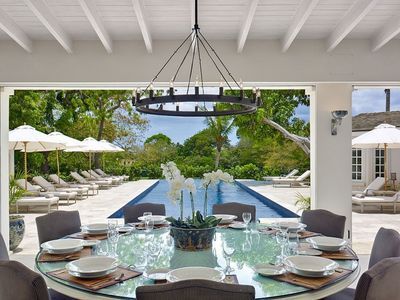 Photo for CASABLANCA VILLA BARBADOS - LUXURY 7 BED VILLA IN SANDY LANE ESTATE - STAFF INC