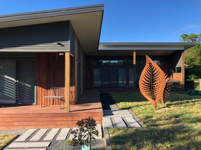 Photo for New architecturally designed Beach House minutes from Sandy Point beach