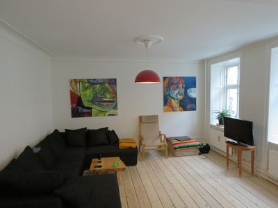 Photo for Big, cozy apartment in hippest area