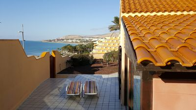 Photo for MARINA VILLA, ON THE SEA FRONT, OUTSTANDING VIEWS OVER CALM BAY COAST.