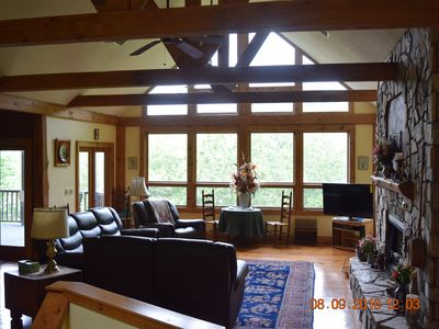 Photo for Blue Ridge Mountain Getaway In Springdale Country Club ( Gated Community)