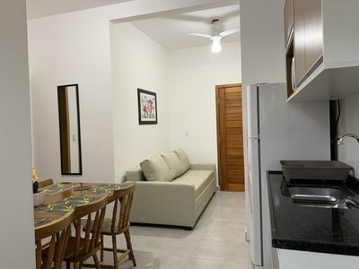Photo for Apt 104. Walk to the beach. Beautiful new and comfortable.