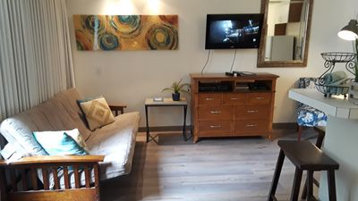 Photo for Comfortable Corner Suite opposite Beach & Park