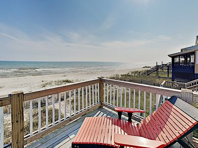 Photo for Coastal Blessings: Huge Gulf-Front Hideaway w/ Private Beach Access