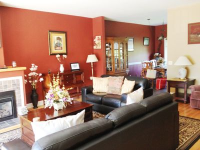 Photo for Saratoga Lake-view Townhouse 3 Bedrooms~Minutes from Track/Town