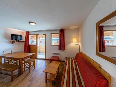 Photo for Surface area : about 23 m². Living room with sofa-bed. Sleeping area with bunk beds