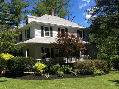 Photo for Casually elegant home ideally located close to Lenox center and Tanglewood.