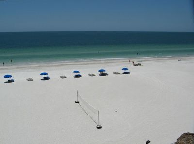 Enjoy 15 miles of wide white sand beach, swim, walk, run, ride bike, or relax