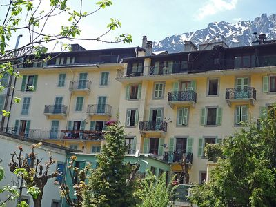Photo for Apartment in the center of Chamonix with Lift, Internet, Washing machine (102679)