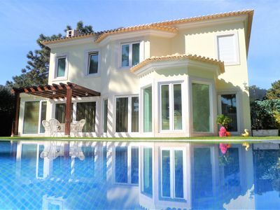 Photo for Luxury Villa within Golf Resort, Pool,next to fantastic Beaches(Lisbon-Portugal)