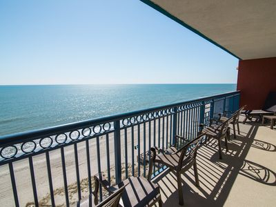 Photo for LAST MINUTE RATE ,Direct Oceanfront,2BR, Master On Ocean,Large balcony,Central
