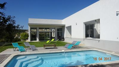 Photo for Superb architect villa with pool in St-Aygulf