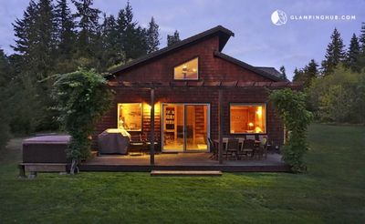 Photo for Spacious Cabin Rental for Groups with Hot Tub in Port Angeles, Washington