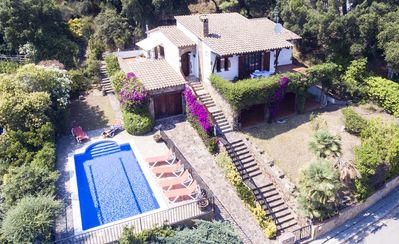 Photo for Beautiful traditional detached Villa with sea views, private pool and gardens