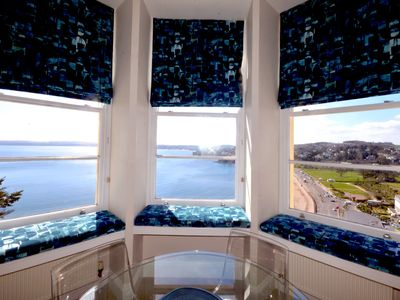 Photo for Smart one bed apartment with  sea views