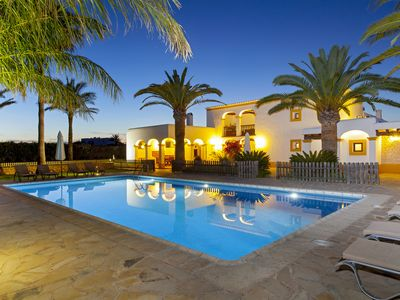 Photo for Magnificent Ibiza typical house with pool and garden