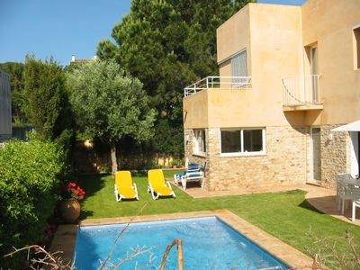 Photo for Modern Villa with private pool ,  7 minutes walk to the beaches.