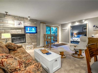 Photo for Newly remodeled Steamboat condo, on the ski-slopes, hot tub!