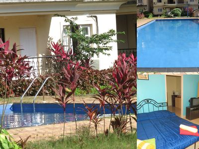 Photo for 1BR Apartment Vacation Rental in Arpora, Goa