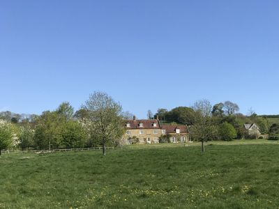 Photo for Secluded famrmhouse in stunning secluded setting with wild swimming,  8 bedrooms