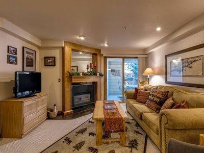 Photo for Lovely Slopeside Home - Steps from Pool/HTs/Fire Pit, Resort Trails and Events