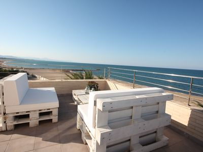 Photo for Penthouse in first beach line with 2 bedrooms in Denia