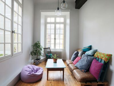Photo for Bright charming flat #PlacePlumereau #Tours