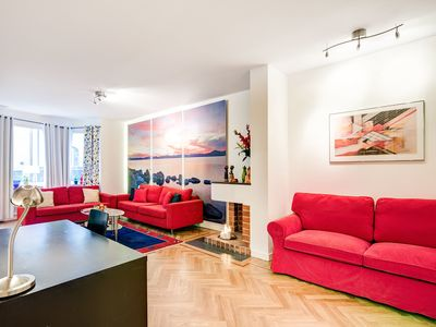 Photo for One bedroom apartment deluxe with balcony   H