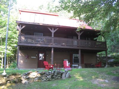 Trickey Pond - Virtual Lakefront Home Without Lakefront Rent