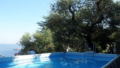 Photo for Casa Papoly (C) - pretty apartment in villa with sea view close to Sorrento