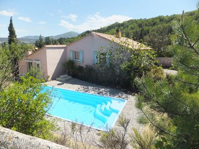 Photo for Detached, quiet house with pool and large garden for 2-6 persons