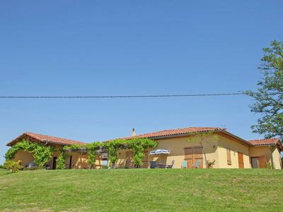 Photo for Beautiful villa with private pool and stunning views of the Pyrenees.