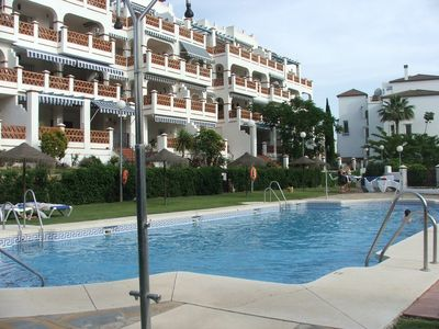 Photo for Cristina Apartment, Mijas Golf, 2-Bedroom, 4 adults + 2 Children Max, Airco