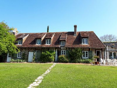 Photo for Clos Normand, haven of peace; house 180 m2 facing south with enclosed garden & stream