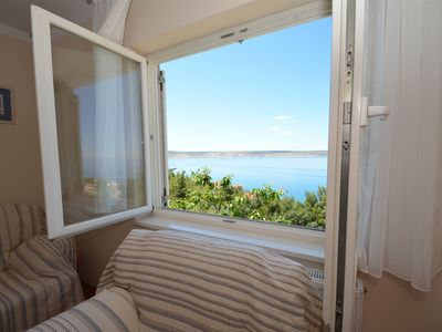 Photo for Apartments Dokoza-with panoramic sea veiw (40344-A2) - Starigrad Paklenica