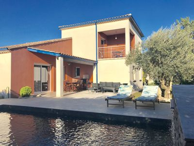Photo for Villa PALOMA 2 SPA GARDEN NEW SWIMMING POOL IN 2019 between NARBONNE and BÉZIERS
