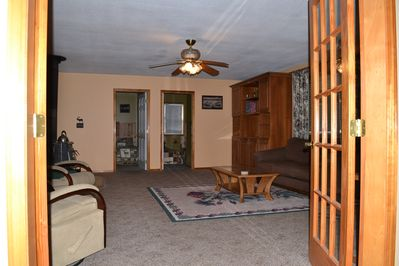 Family room with lots of space for everyone to visit