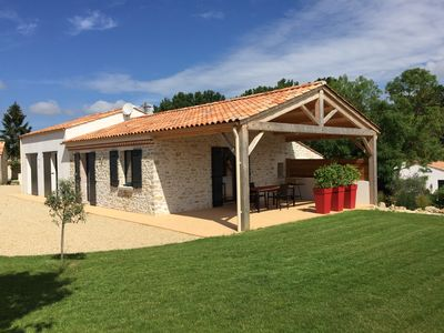 Photo for House with pool close to the great beaches of South Vendee