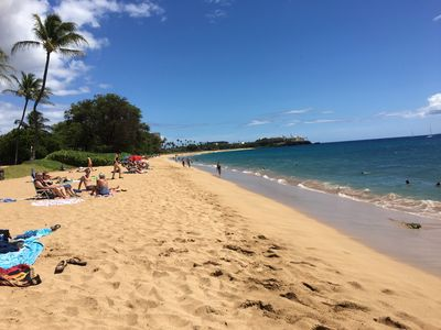 Photo for Beautiful Remodel Oceanfront Lahaina 2bed Walk to Beach & Town, Swim with Turtle