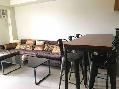 Photo for Classy 2BR Apartment + Netflix at Rockwell Makati
