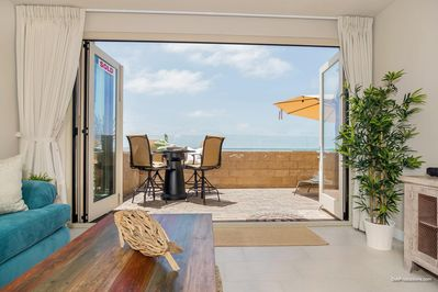 Walk Right Out to Your Private Oceanfront Patio